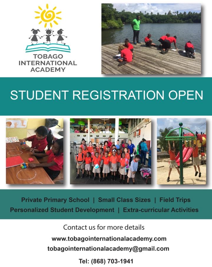 student registration open flyer